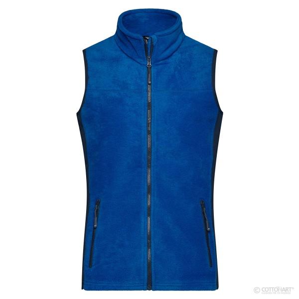 Damen Workwear Fleece Weste James & Nicholson®