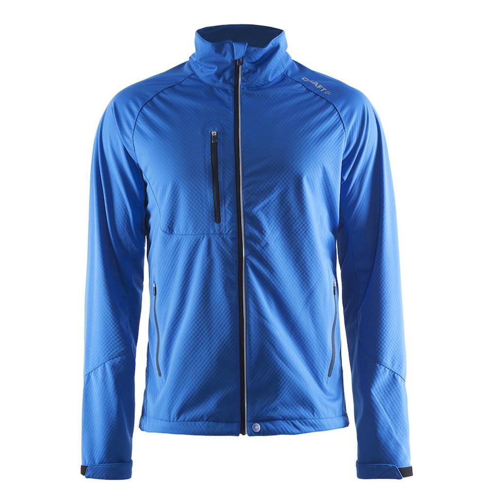 Herren Soft Shell Jacket Bormio Craft® | bedrucken, besticken, bedrucken lassen, besticken lassen, mit Logo |
