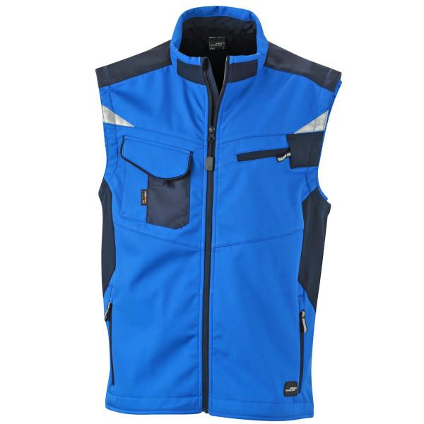 Herren Workwear Softshell Weste James & Nicholson®