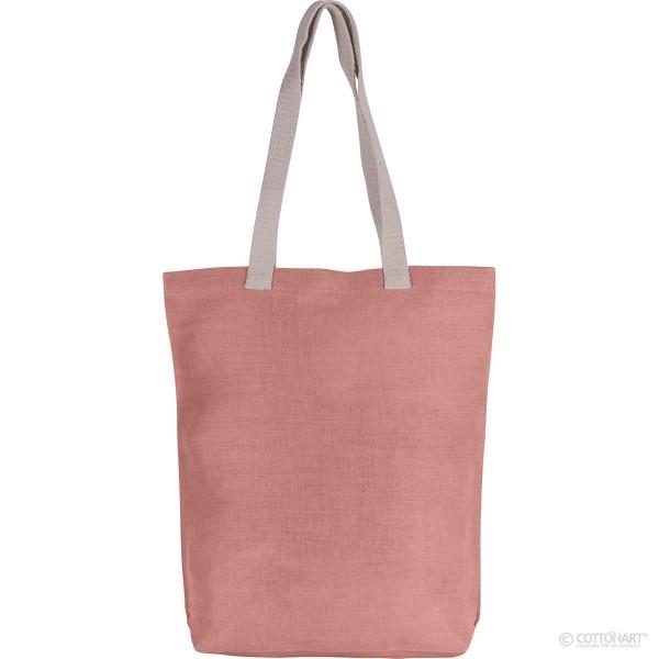 Shoppingtasche aus Jute-Baumwolle KiMood®