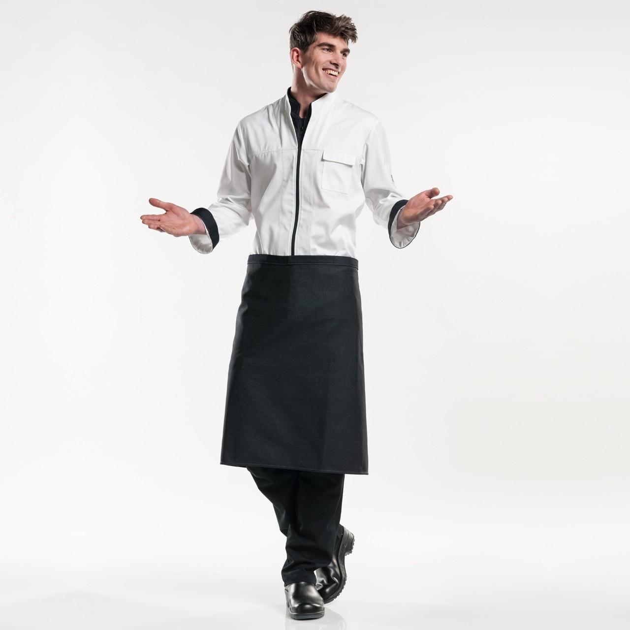 Jeans Kellnerschürze ohne Tasche Chaud Devant®   bedrucken, besticken, bedrucken lassen, besticken lassen, mit Logo  