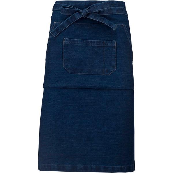 Jeans bar apron knee-length Denim Kariban®