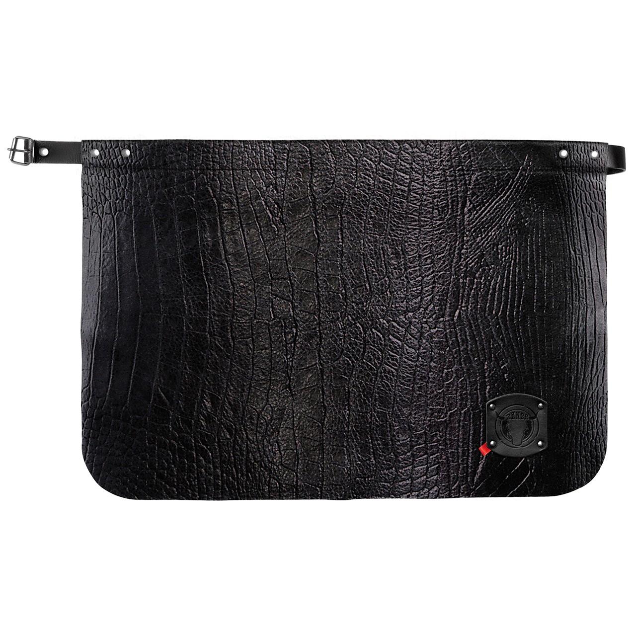 Leder Vorbinder Crocostyle Exner® | bedrucken, besticken, bedrucken lassen, besticken lassen, mit Logo |