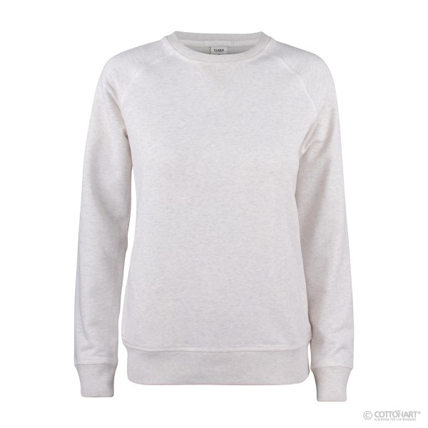 Women's Roundneck Sweatshirt Premium Organic Cotton Clique®