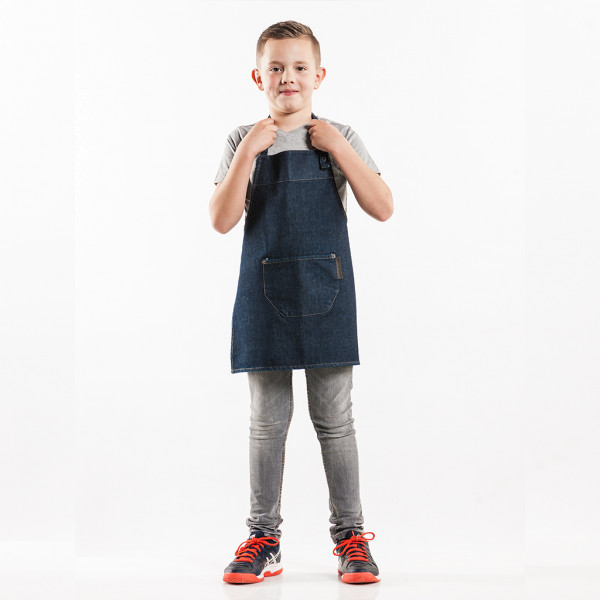 Children's apron Blue Denim Chaud Devant®