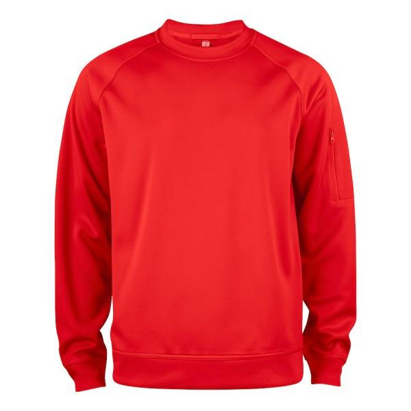 Unisex Basic Active Sweatshirt mit Rundhalsausschnitt Clique®