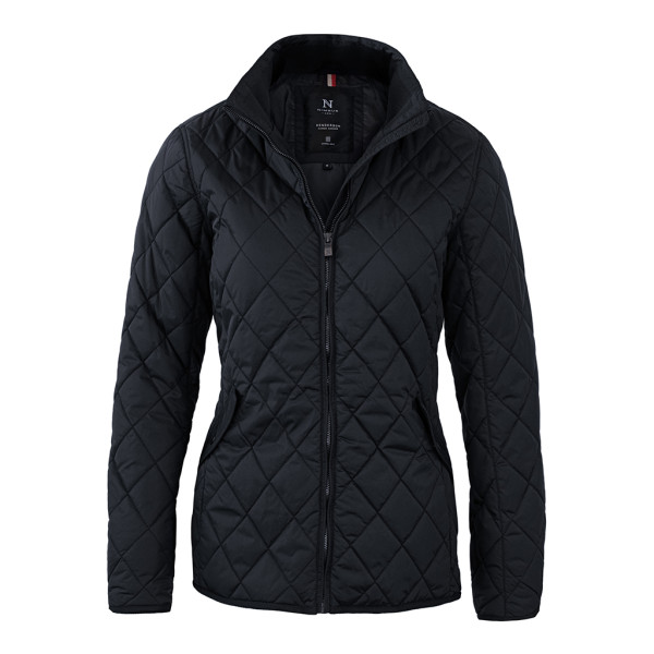 Ladies checked quilted jacket Henderson Nimbus®
