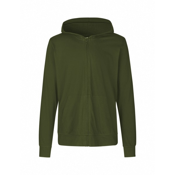 Organic Fairtrade Unisex Jersey Hoodie with Zip Neutral®