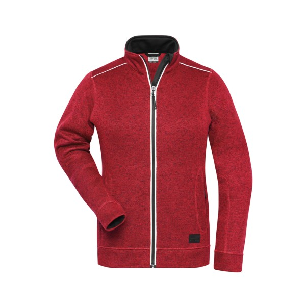 Damen Workwear Strickfleece James & Nicholson®