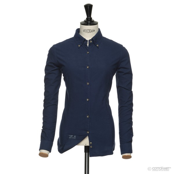 Oxford-Bluse Indigo Bow 31 Navy J. Harvest & Frost®