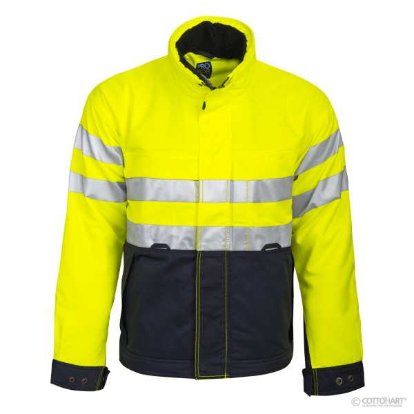 Men's lined safety jacket EN ISO 20471 class 3 Projob®.