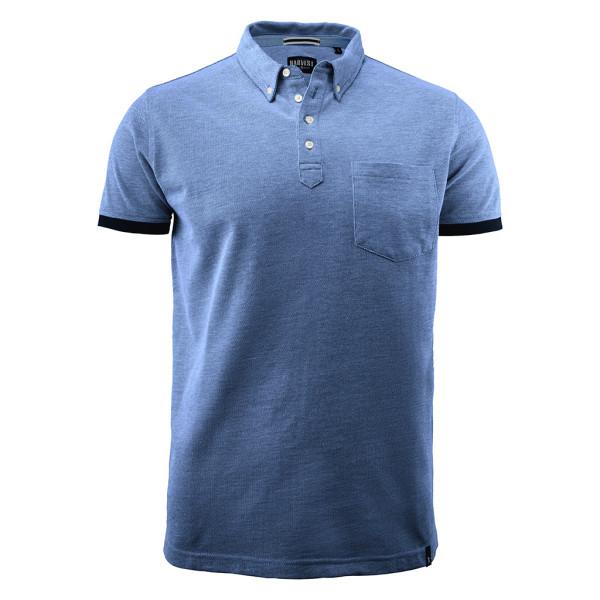 Herren Pique Poloshirt Larkford James Harvest®