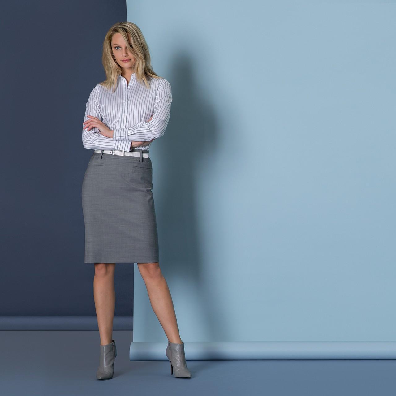 Damen Stiftrock Modern Regular Fit Greiff® | bedrucken, besticken, bedrucken lassen, besticken lassen, mit Logo |
