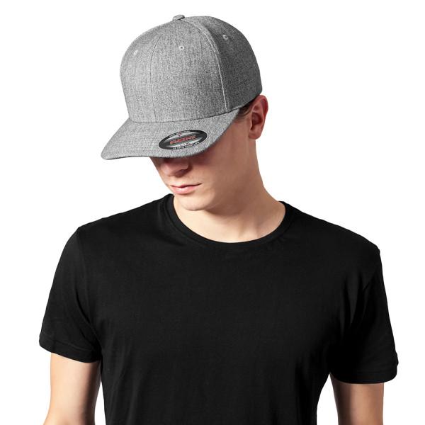 Fitted Baseball-Cap Plain Span FLEXFIT®