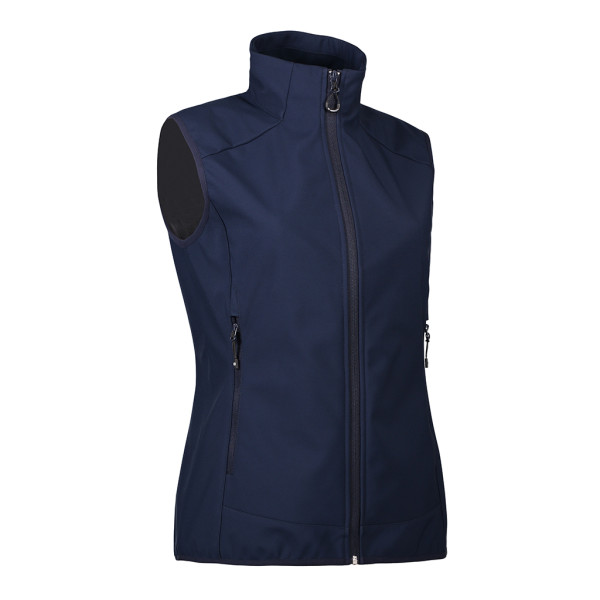 Ladies functional soft shell vest ID Identity®