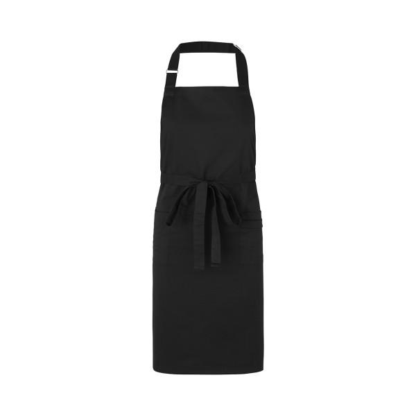 Fairtrade Gastronomie-Schürze mit Taschen aus BIO Baumwolle NEUTRAL®