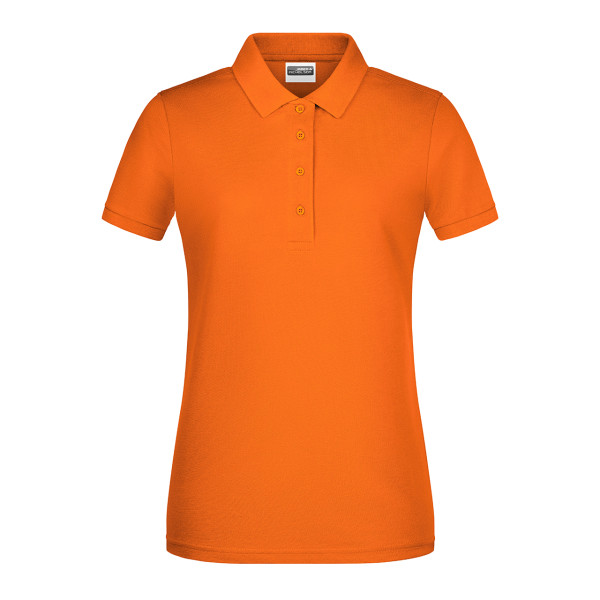 Ladies Polo Shirt Organic Cotton James & Nicholson®