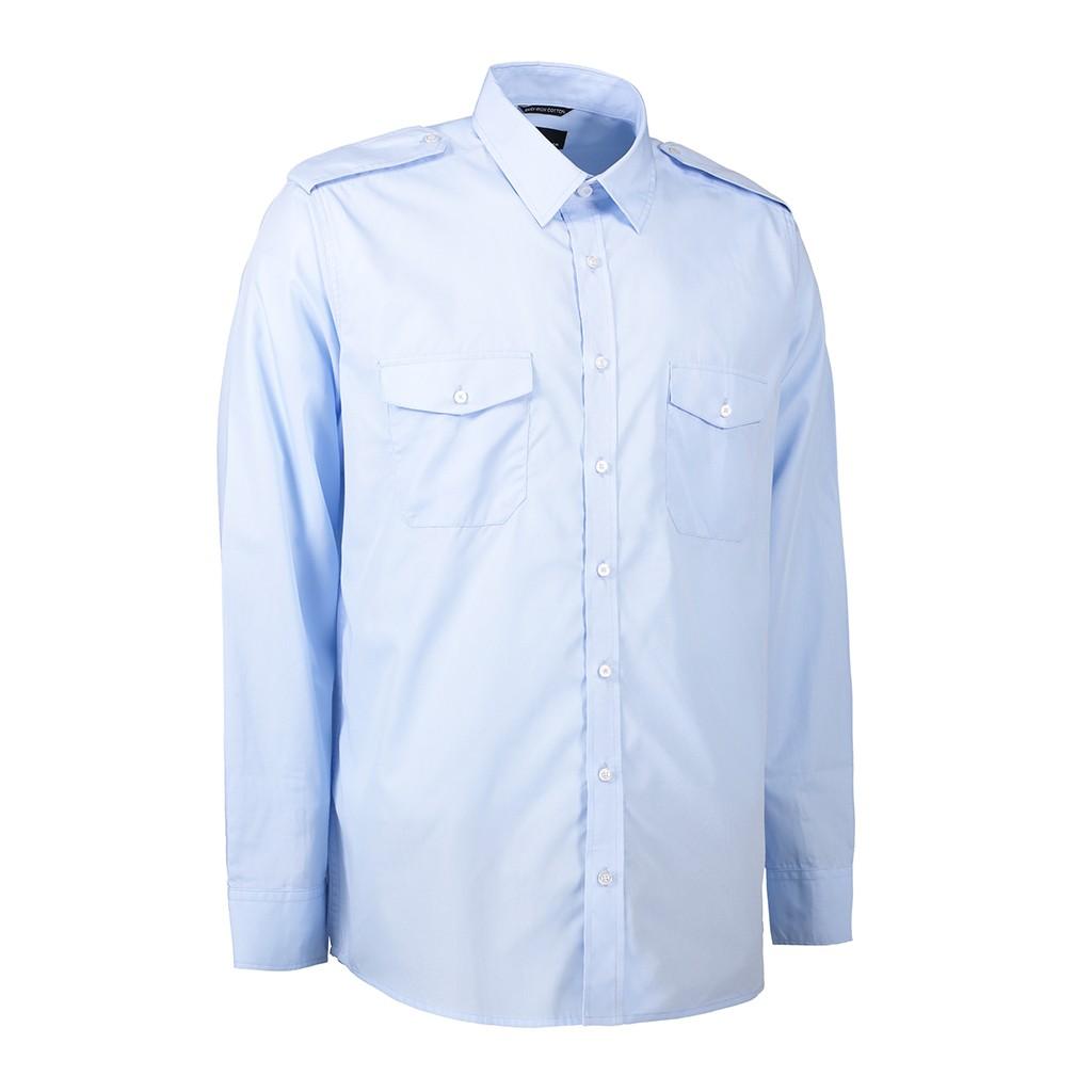 Pilothemd Langarm ID Identity®   bedrucken, besticken, bedrucken lassen, besticken lassen, mit Logo  