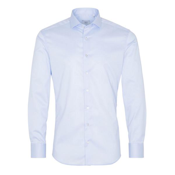 Langarm Hemd Slim Fit Gentle Shirt Twill Eterna®
