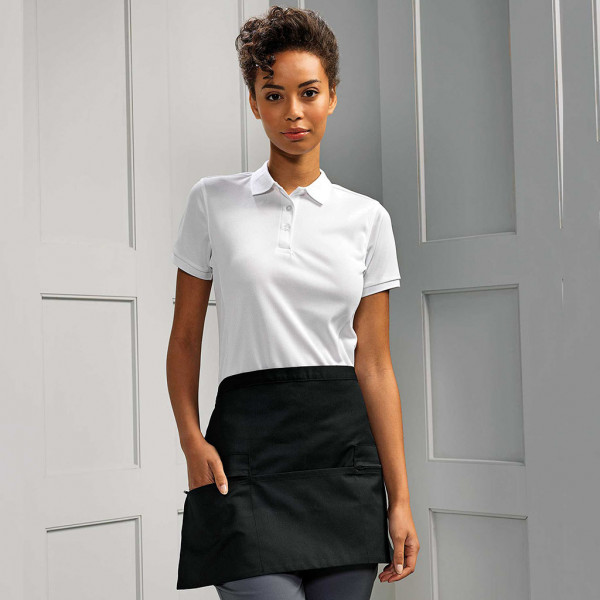 Apron with zip pockets Premier®