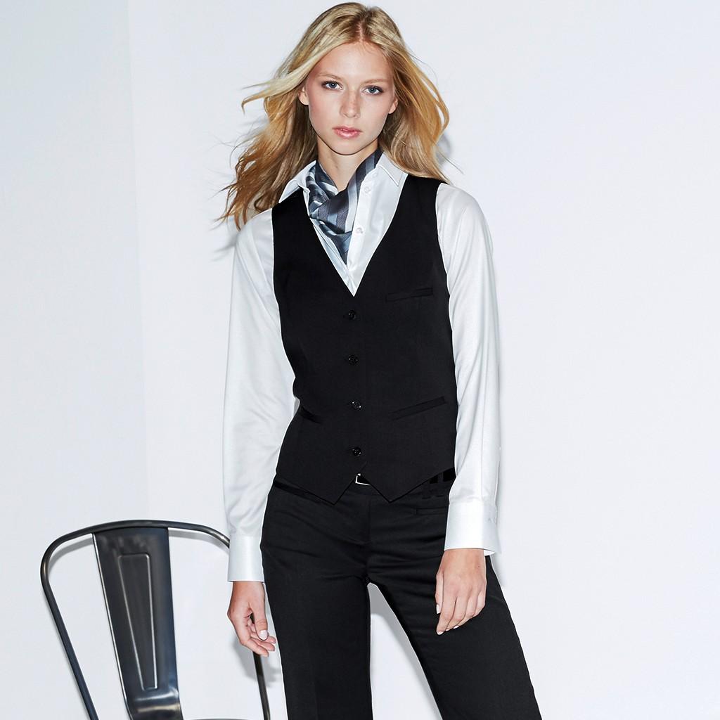 Damen Weste Modern Slim Fit Greiff® | bedrucken, besticken, bedrucken lassen, besticken lassen, mit Logo |