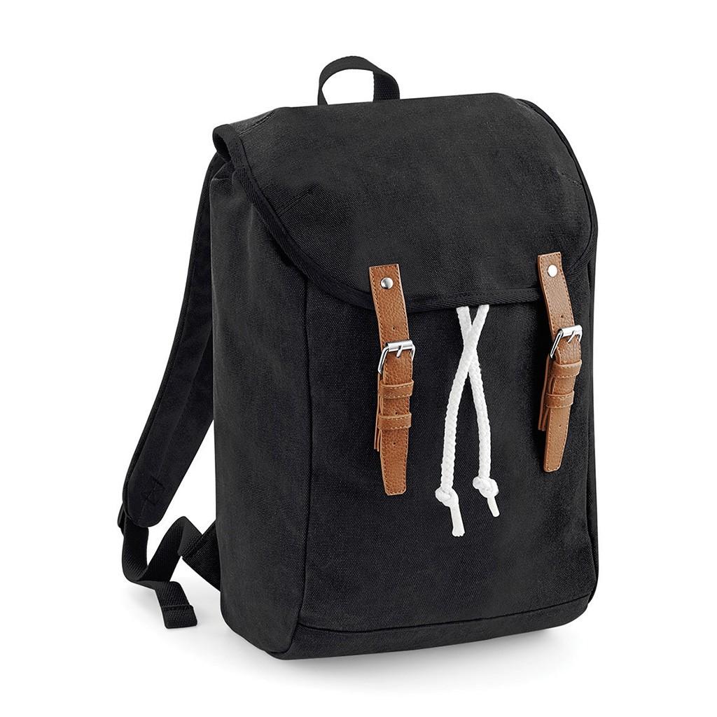 Vintage Rucksack mit Laptop-Fach Quadra® | bedrucken, besticken, bedrucken lassen, besticken lassen, mit Logo |