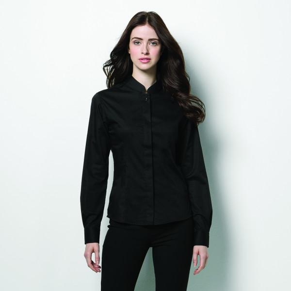Blusen für Frauen bedruckt bedrucken lassen bestickt besticken lassen mit Logo mit Monogramm