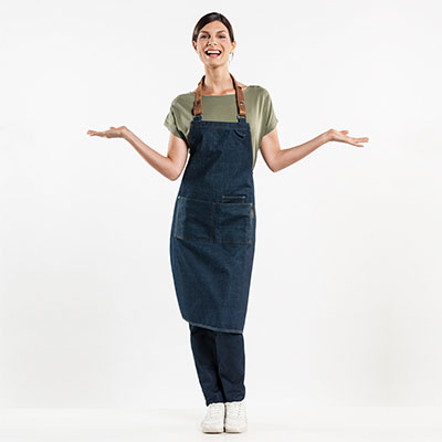 Latzschurzen Jeans