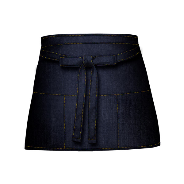 Jeans Denim Cocktail Apron with Bag Link®