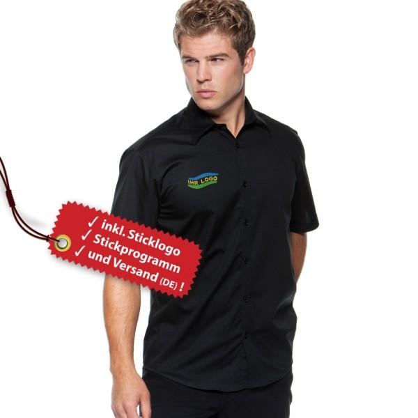 Seidensticker® Tailored-Fit Shirt short sleeve embroidery