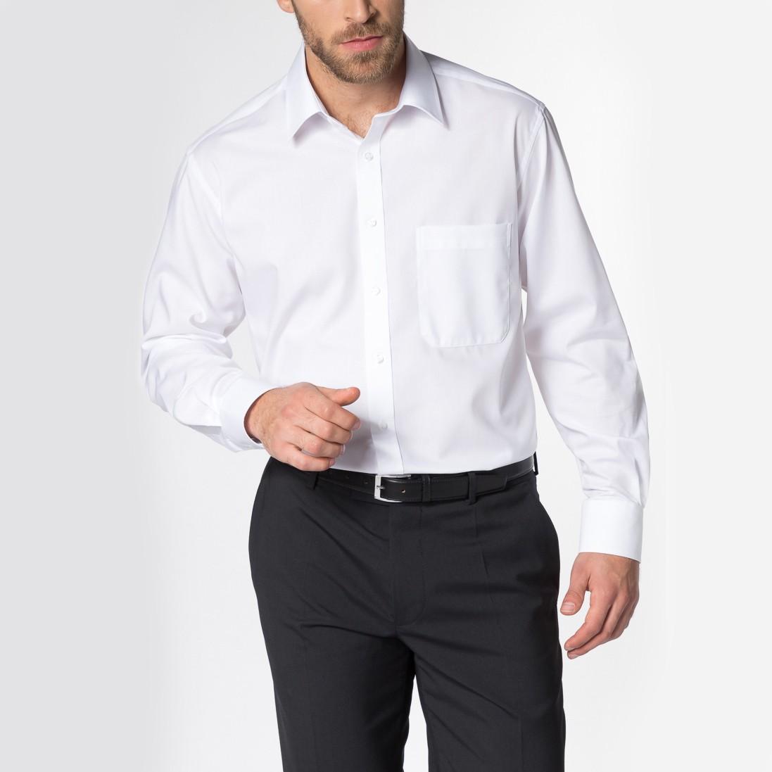 Langarm Hemd Comfort Fit Popeline Sonder-Armlänge Eterna® | bedrucken, besticken, bedrucken lassen, besticken lassen, mit Logo |