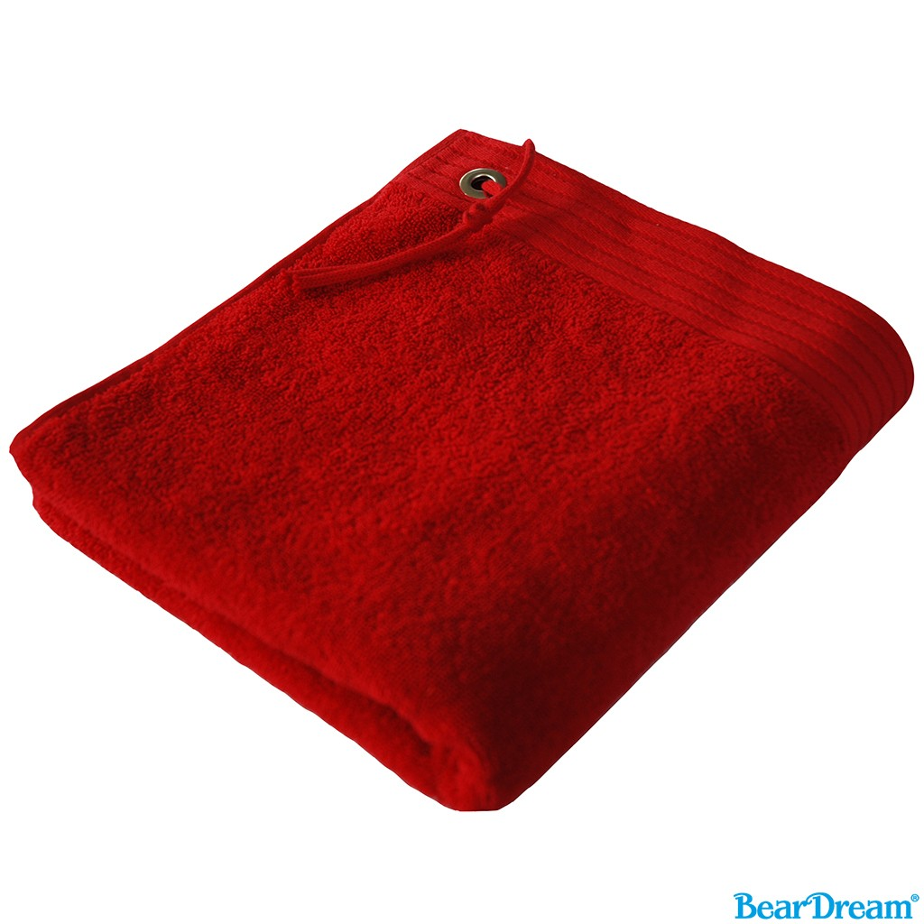Premium Sport Duschtuch Bear Dream®   bedrucken, besticken, bedrucken lassen, besticken lassen, mit Logo  