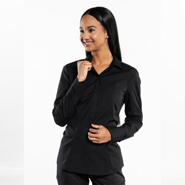 Ladies blouse UFX Black Chaud Devant®