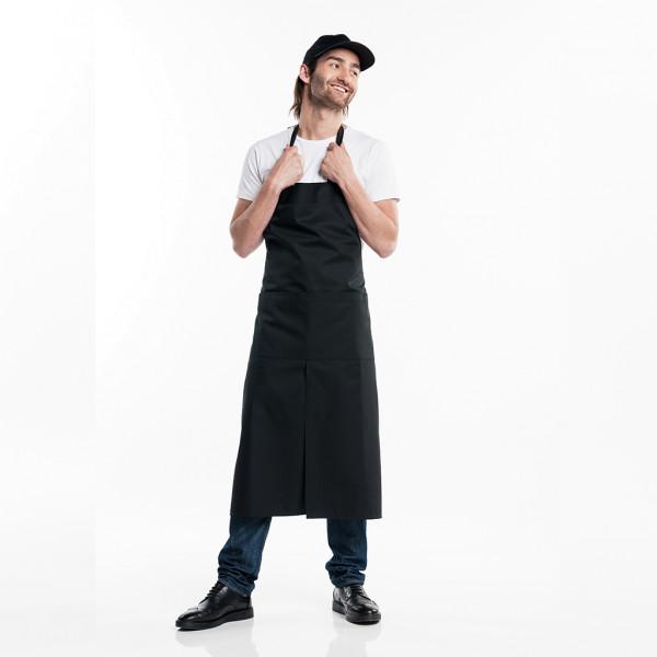 Bib apron with pocket Chaud Devant®