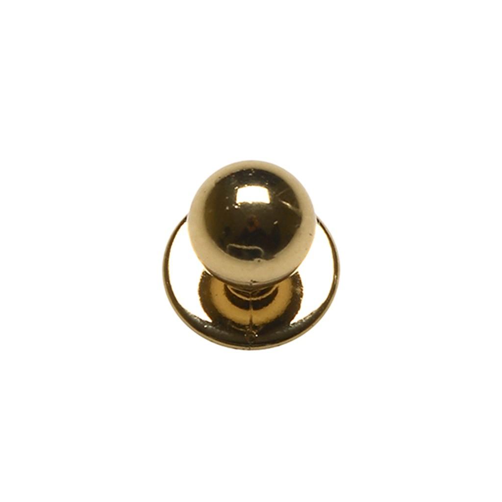 Kugelknöpfe Gold im 12er Pack Karlowsky®   bedrucken, besticken, bedrucken lassen, besticken lassen, mit Logo  