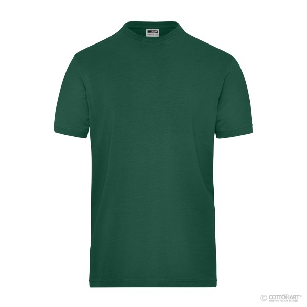 Herren Bio Workwear-T Stretch James & Nicholson®