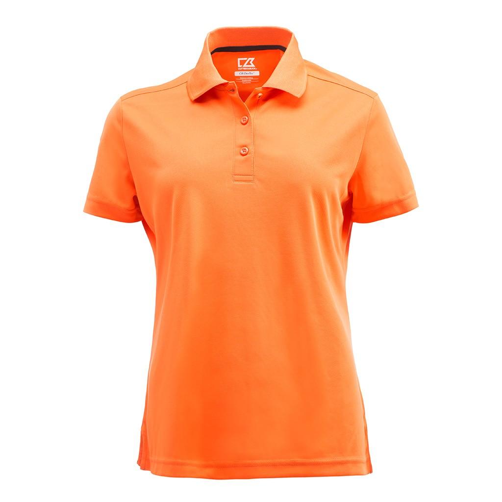 Damen Performance Poloshirt Kelowna Cutter & Buck® | bedrucken, besticken, bedrucken lassen, besticken lassen, mit Logo |
