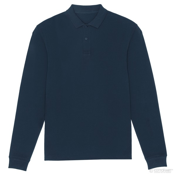 Herren Poloshirt Stanley Dedicater Longsleeve Bio-Baumwolle Stanley/Stella®