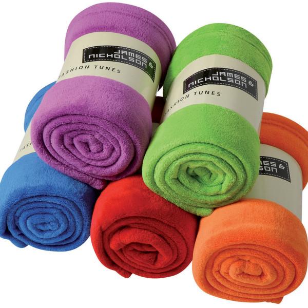 Microfibre Fleece Blanket James & Nicholson®