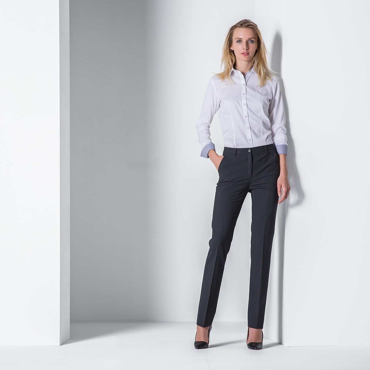 Damen Hose Regular Fit Greiff®   bedrucken, besticken, bedrucken lassen, besticken lassen, mit Logo  
