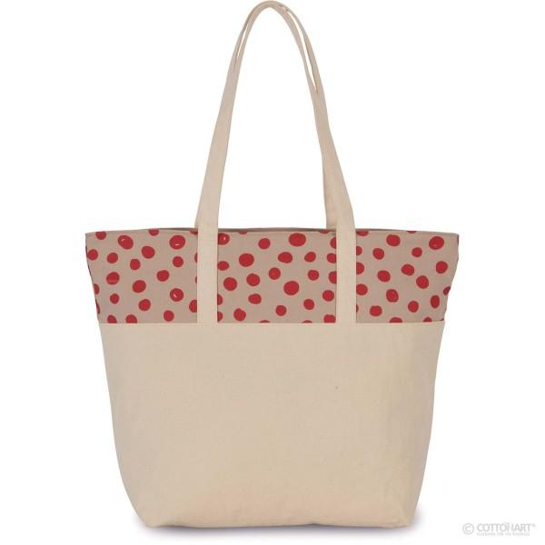Shoppingtasche mit Punktmuster KiMood®