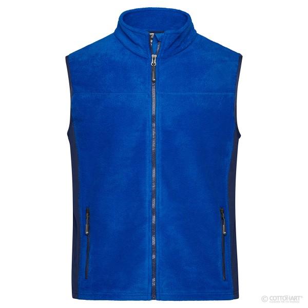 Herren Workwear Fleece Weste James & Nicholson®