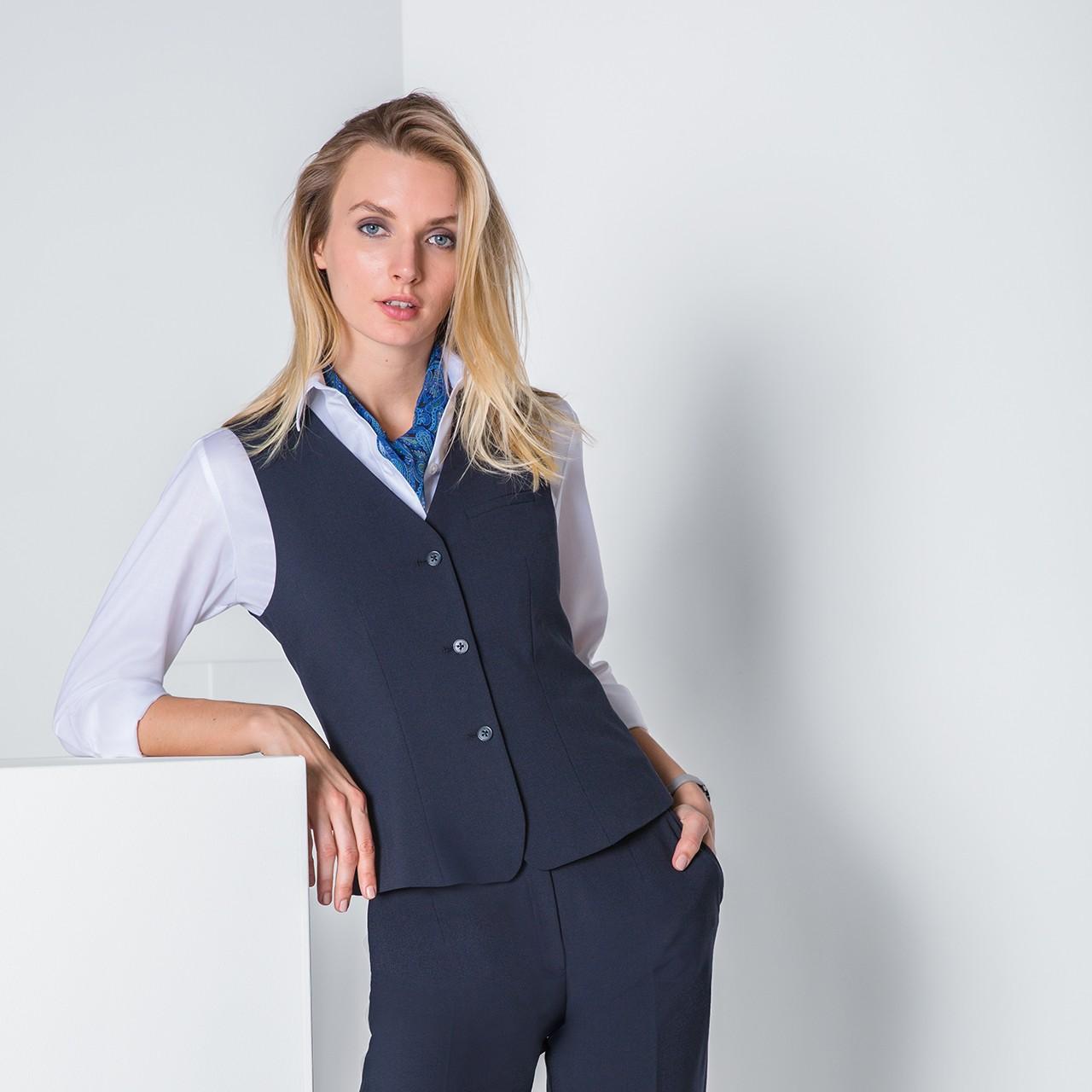 Damen Weste Premium Comfort Fit Greiff® | bedrucken, besticken, bedrucken lassen, besticken lassen, mit Logo |