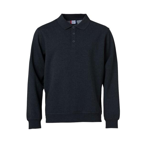 Herren Sweatshirt Basic mit Stehkragen Clique®