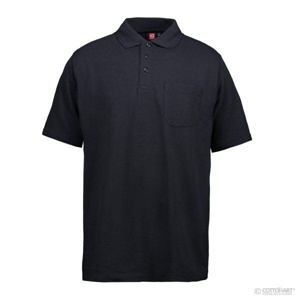 Klassisches Herren Poloshirt mit Tasche ID Identity®