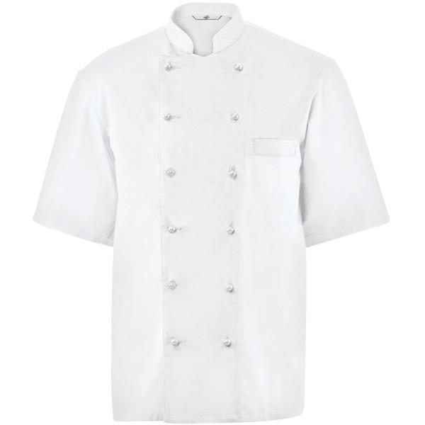 Kochjacken für Herren bedruckt bedrucken lassen bestickt besticken lassen mit Logo mit Monogramm