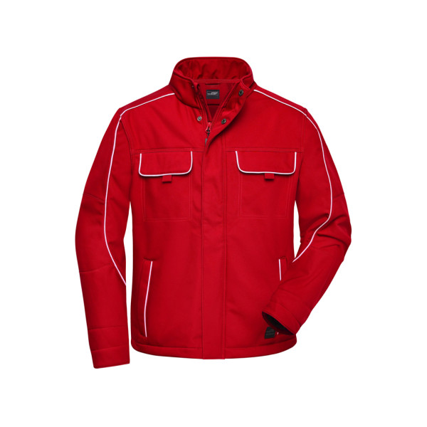 Workwear Softshell Jacket Solid James & Nicholson®