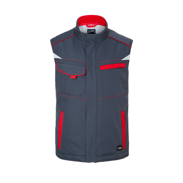 Workwear Softshell Vest lined James & Nicholson®