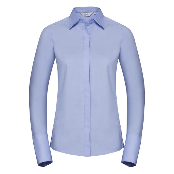 Blouse long sleeve Ultimate Stretch Slim Fit Russell®