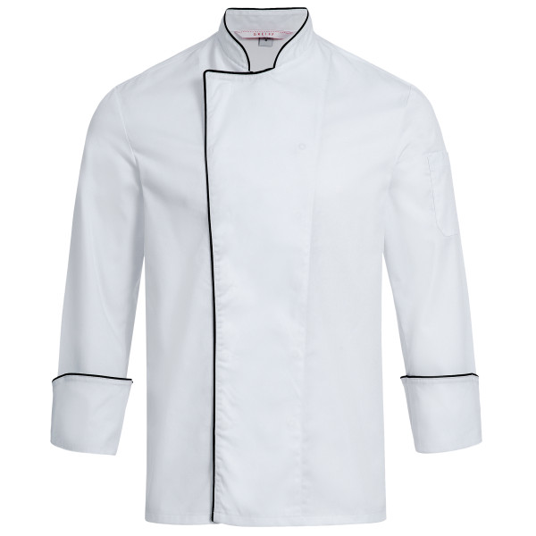 Chef jacket RF Cuisine Basic with piping Greiff®